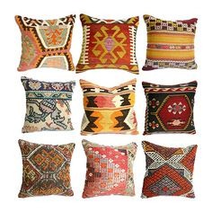 If you're lusting after a colorful kilim rug but don't need a new floor covering, don't fret. These pattern-happy Kilim Pillows (starting at $43) capture the same flavor in a much smaller package.