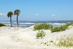 Hunting Island State Park Beach And Lighthouse Near Beaufort Sc