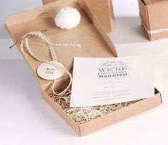 The perfect box for an invitation to a wedding.