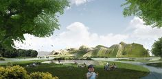 Taichung City Cultural Center Competition Entry / BAT (Bilbao Architecture Team), Taiwan