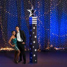 9 ft. 3 in. Stars on Broadway Columns