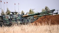 IS conflict: Turkey sends more tanks into Syria - BBC News