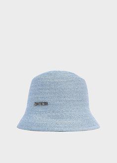 Jacquemus Men's Le Bob Manosque Hat in Light Blue Crochet Summer Hats, Hat Crochet, Sombrero A Crochet, Bob, Cotton Citizen, Fit Board Workouts, Cloche Hat, Mens Caps, Shoe Closet