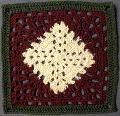 12 inch granny square