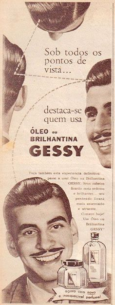 Gessy Óleo Capilar & Brilhantina