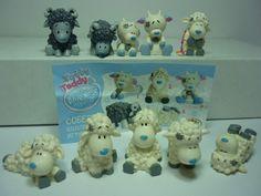 Schafe von Konfitraid aus Russland  Komplettsatz Fremdfiguren