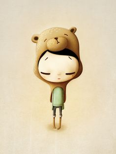 Cute and Funny Character Designs by Marie Breuer #illustration