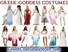Greek Goddess Costumes