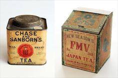 アメリカで手に入れた日本産の古い茶箱