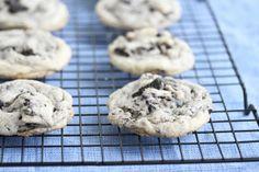 Chewy Cookies and Cream Cookies | Kirbie's Cravings | A San Diego food blog