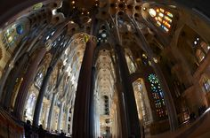 Looking Back - Sagrada Familia  Please........ Like, repin   Share. 1000 Tanks!!