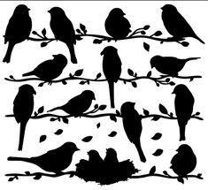 wooden bird wall decor - Google Search
