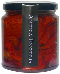 Organic and ecological dried tomatoes in Olive oil, these are just a delicious apetizer or even in a salat. These tomatoes have been harvested in Puglia Italy and are so pure in taste, it has become rare to find a taste like this