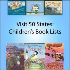 Visit-50-states-book - great for Read Across America