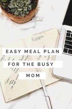 This meal plan is for the busy mom who wants to incorporate healthy eating into her and her families lives, but lives a very busy lifestyle!