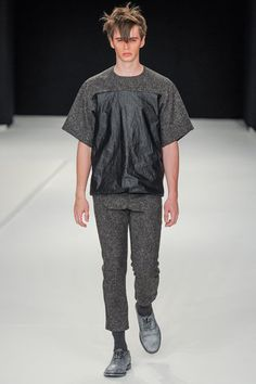 MAN Spring 2014 Menswear Collection Slideshow on Style.com