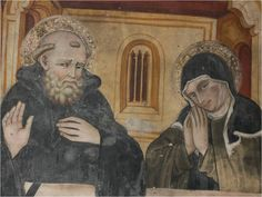 Happy Feast Day of St Scholastica - February 10 #pinterest The twins visited each other once a year in a farmhouse because Scholastica was not permitted inside the monastery. They spent these times discussing spiritual matters. According to the Dialogues of St. Gregory the Great, the brother and sister spent their last day together .........| Awestruck Catholic Social Network