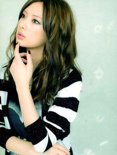 北川景子さんは美人ロングヘアーの代表♡
