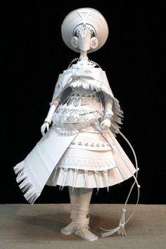 Papierowe lalki :: Magazyn Akademia Sztuki :: Sztuka Design Architektura :: Inspiracje