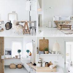 Wonen in een warm, wit appartement in Noorwegen - op Welke.nl.