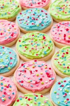 You'll love these Soft Frosted Sugar Cookies, just like the ones from the grocery store!