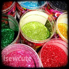 Glitters, glitters everywhere !
