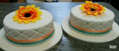 Wedding side cakes
