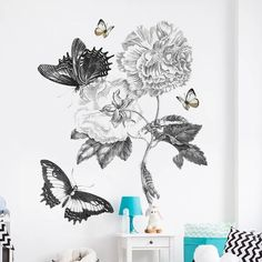 Flower Wall Decal – the treasure thrift