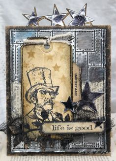 Crafting ideas from Sizzix UK: Life is good....