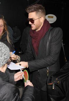Adam Lambert leaving Good Morning America after announcing Queen summer tour