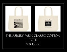 The Asbury Park Classic Cotton Tote