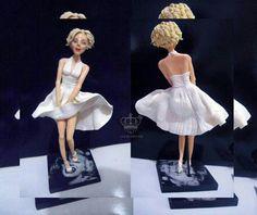 Marilyn Monroe in Polymer Clay by Lucas Arruda Arts