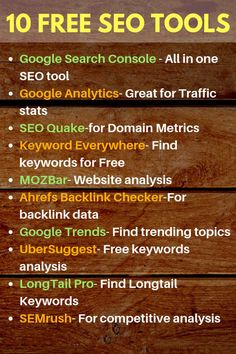 Learn seo tips and seo marketing tips with these best free seo tools list and st - SEO Backlink Tools - Track your backlinks and SEO Rank Now. - Learn seo tips and seo marketing tips with these best free seo tools list and start doing seo like a pro. Marketing Logo, Digital Marketing Strategy, Inbound Marketing, Marketing Tools, Content Marketing, Affiliate Marketing, Marketing Software, Seo Strategy, Media Marketing