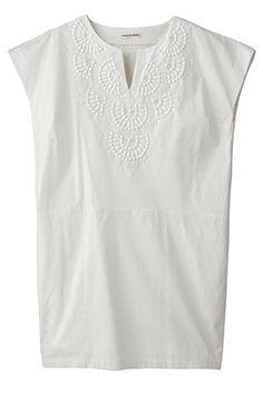胸刺繍ワンピースマリリンムーン
