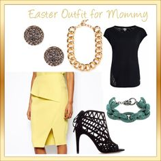 Easter outfit idea #spring #pastels | www.mystylepad.com