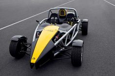 Ariel Atom - The most affordable super car. Bare-bones design makes it weigh in at only 456 kg. Depending on the engine choice, it has a higher power-to-weight ratio than a Bugatti Veyron... at a fraction of the price. 0-100 km/h at 2.7 on the base 2.0L Honda.