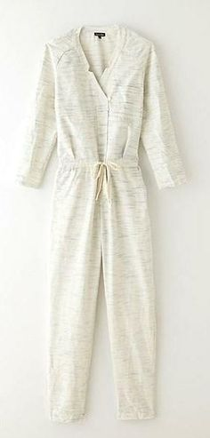 We want to cozy up in Steven Alan's crossover jumpsuit.