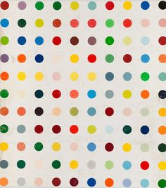 Damien Hirst, Untitled (with Black Dot) 1988
