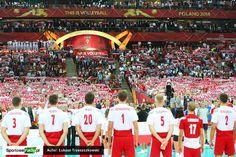 Mecz Otwarcia FIVB Mistrzostw Świata w Piłce Siatkowej 2014: Polska - Serbia 3:0 na Stadionie Narodowym