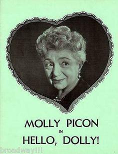 Hello, Dolly! Molly Picon