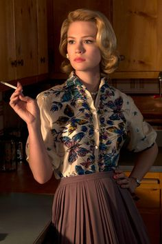 Goodbye Betty Draper-Francis – A Look Back at Her 7 Most Iconic 'Mad Men' Fashion Moments!