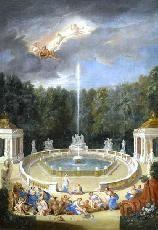 Bosquet des Domes, 1688 by Jean Cotelle