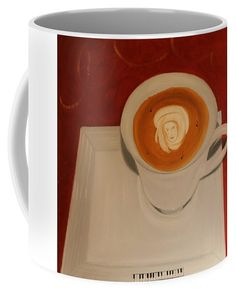Melody coffee Coffee Mug by Ildiko Mecseri. Mugs For Sale, Dishwasher, Coffee Mugs, Ceramics, Tableware, Gifts, Art, Hall Pottery, Presents