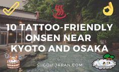 Tattoo-Friendly Onsen In Kyoto and Osaka - If you have tattoos and you still want to experience hot springs in Kyoto or Osaka, check out. Tokyo Japan Travel, Osaka Japan, Japan Trip, Okinawa Japan, Adventure Time Style, Fushimi Inari Taisha, Japan Destinations, Japan Tattoo, Tattoos