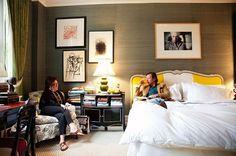 Kate Spade's Bedroom