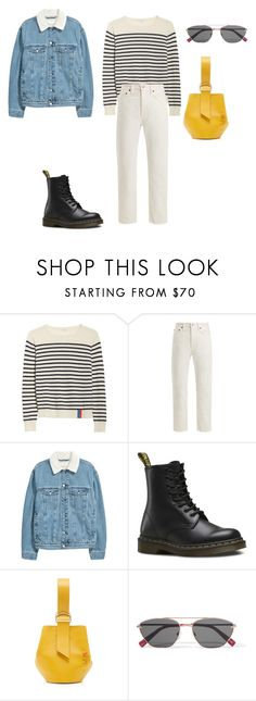 """""""Simple minds"""" by chungfan ❤ liked on Polyvore featuring Kule, Acne Studios, Dr. Martens, Elizabeth and James, womensHistoryMonth, pressforprogress and GirlPride"""