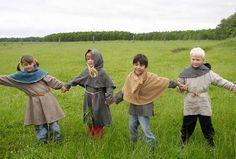 Vikingelandsbyen i Albertslund. Barnekostyme
