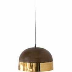 Two Tone Pendant – Brass Weylandts, Home Lighting, Brass, Ceiling Lights, Entertaining, Pendant, Australia, Home Decor, Decoration Home