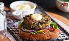 Recette - Burger de tofu | SOS Cuisine
