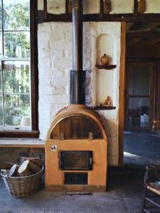 homemade wood stove